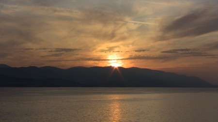 Sunset at Korcula