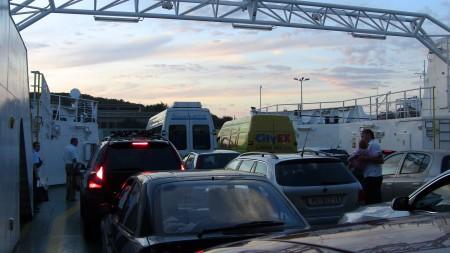Ferry to Korcula