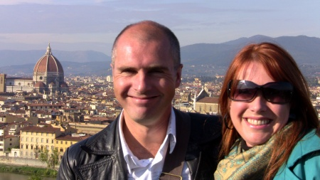 James Abraham & wife