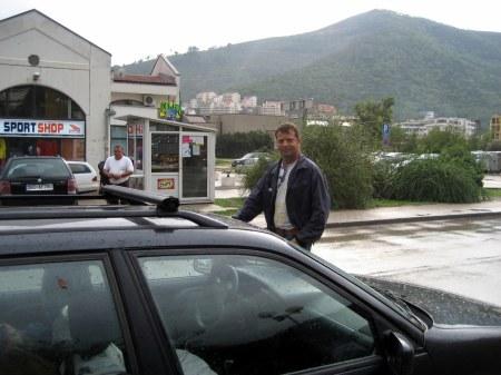 Budba taxi driver