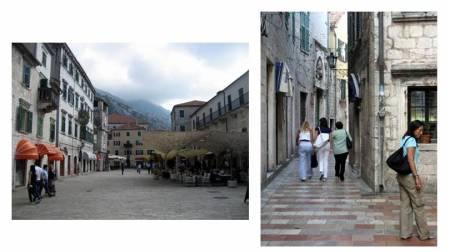 Kotor square & alleys