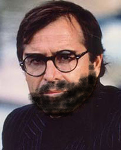 paul theroux with beard